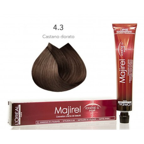 Colorazioni L'ORÉAL PROFESSIONNEL MAJIREL 4.3 L'OREAL 50ML