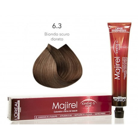 Colorazioni L'ORÉAL PROFESSIONNEL MAJIREL 6.3 L'OREAL 50ML