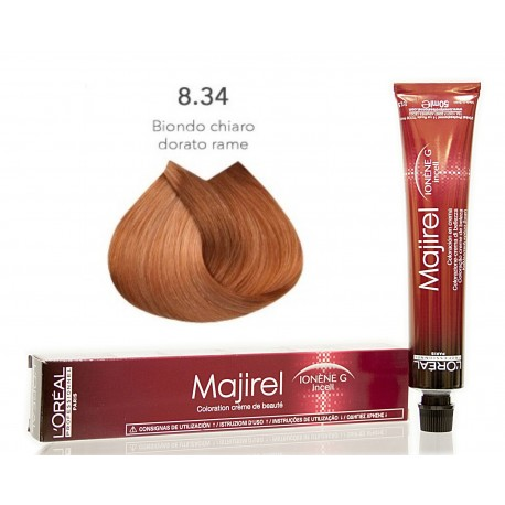 Colorazioni L'ORÉAL PROFESSIONNEL MAJIREL 8.34 L'OREAL 50ML
