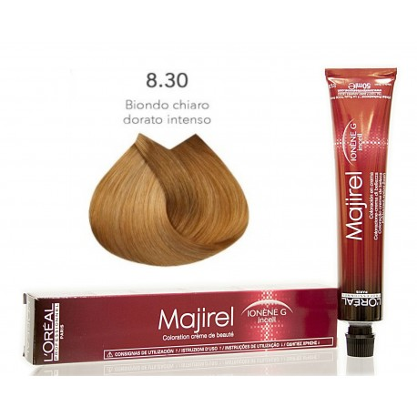 Colorazioni L'ORÉAL PROFESSIONNEL MAJIREL 8.30 L'OREAL 50ML