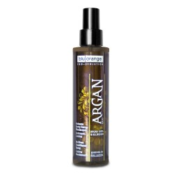 Parrucchieria BLU ORANGE ARGAN 100% BIOLOGICO BALSAMO SPRAY SENZA RISCIACQUO NUTRIMENTO SUBLIME BLU ORANGE
